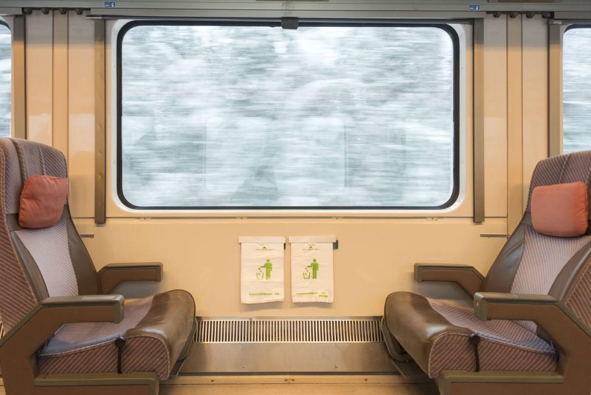 more empty train finland