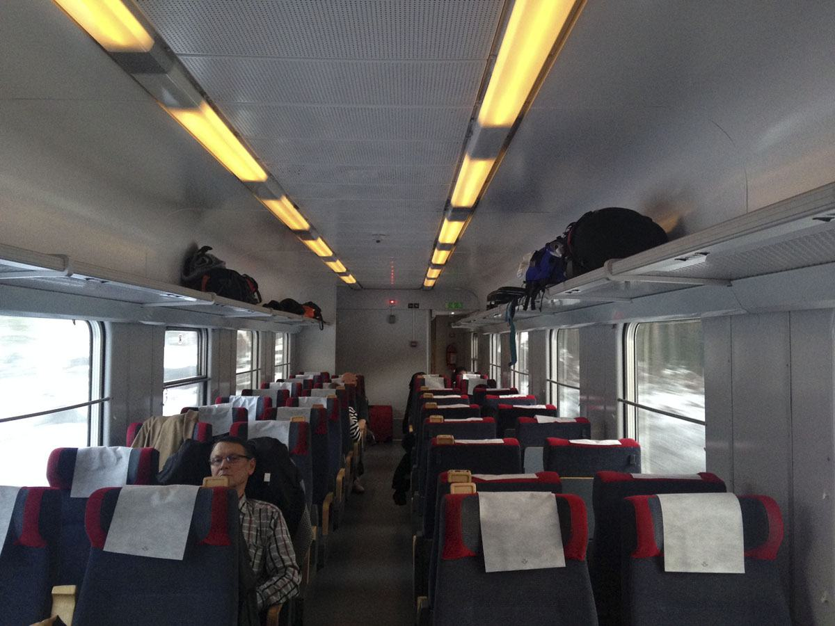 sj stockholm train