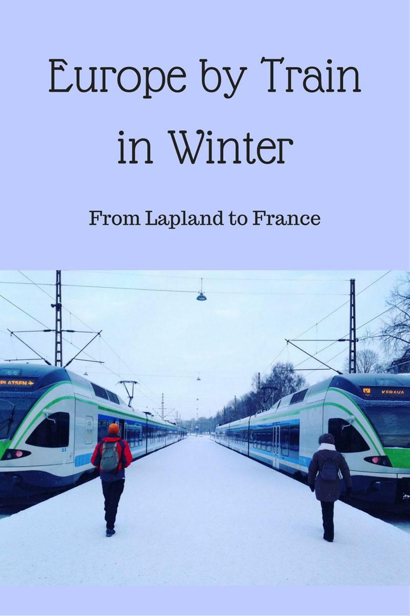 train winter pin