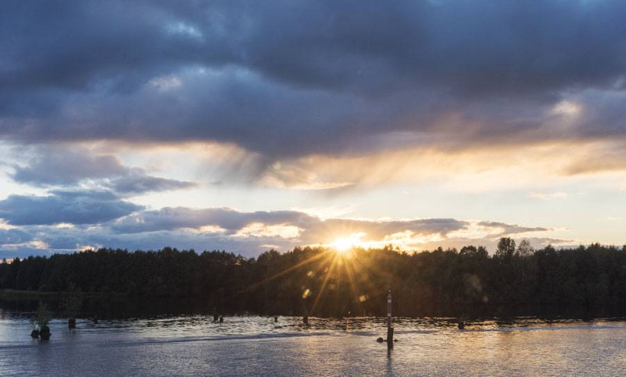 russian river cruise sunset