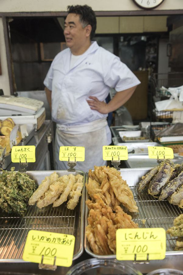 okyo street food sunamachi street tempura