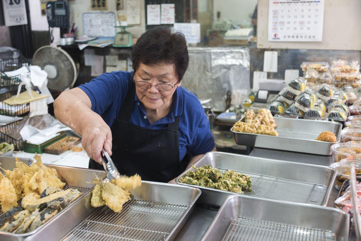tokyo street food tempura