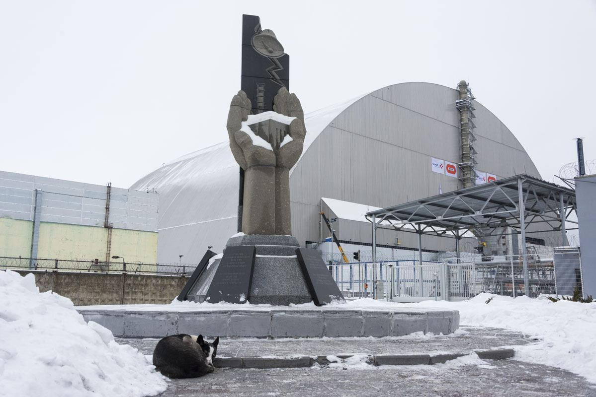 chernobyl exclusion zone reactor 4 monument