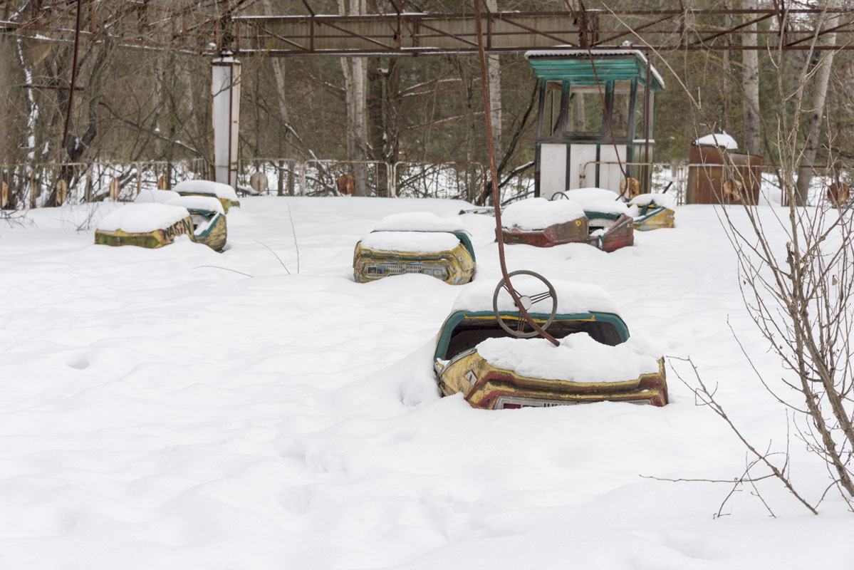 chernobyl playground snow