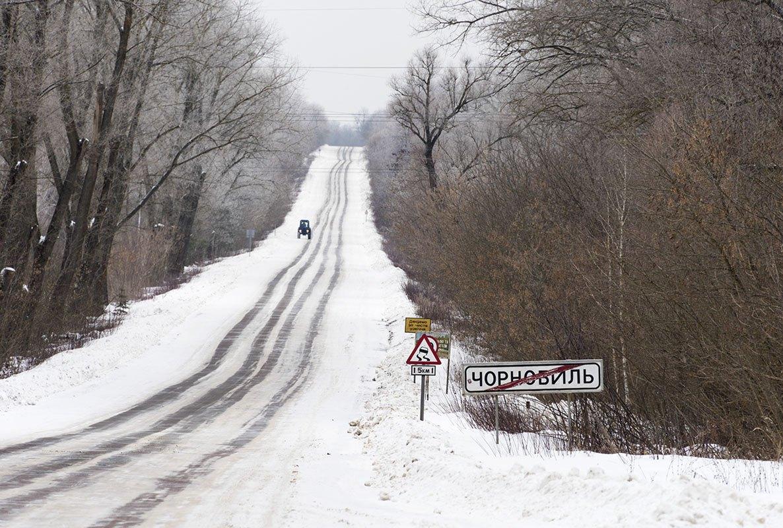 chernobyl road
