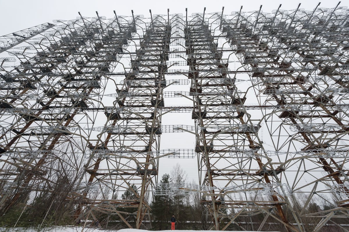 duga russian woodpecker