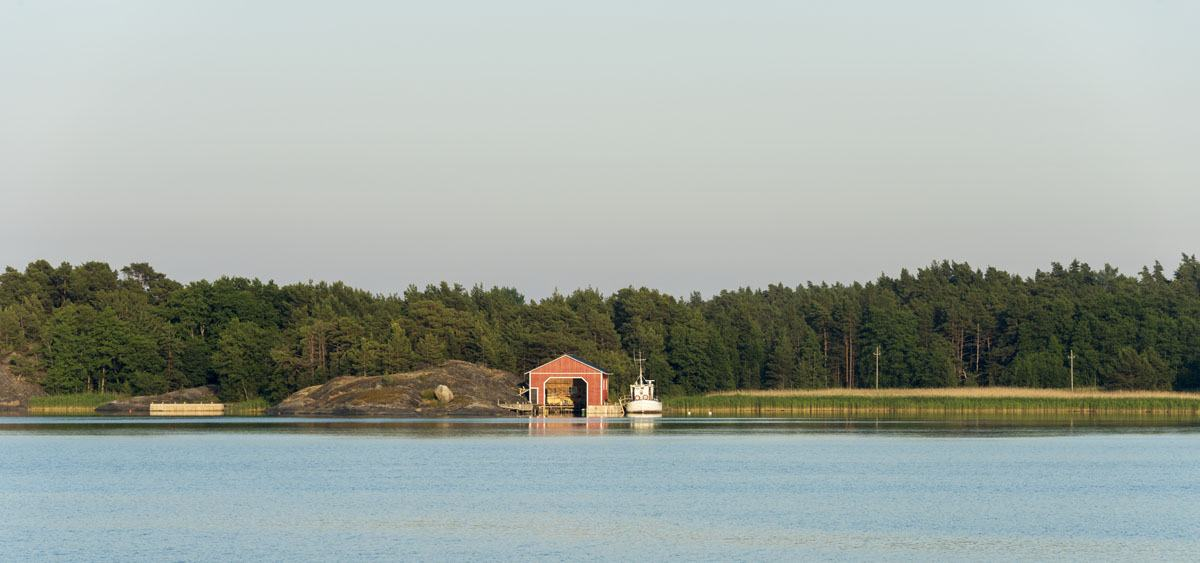 finland archipelago beach kirjais