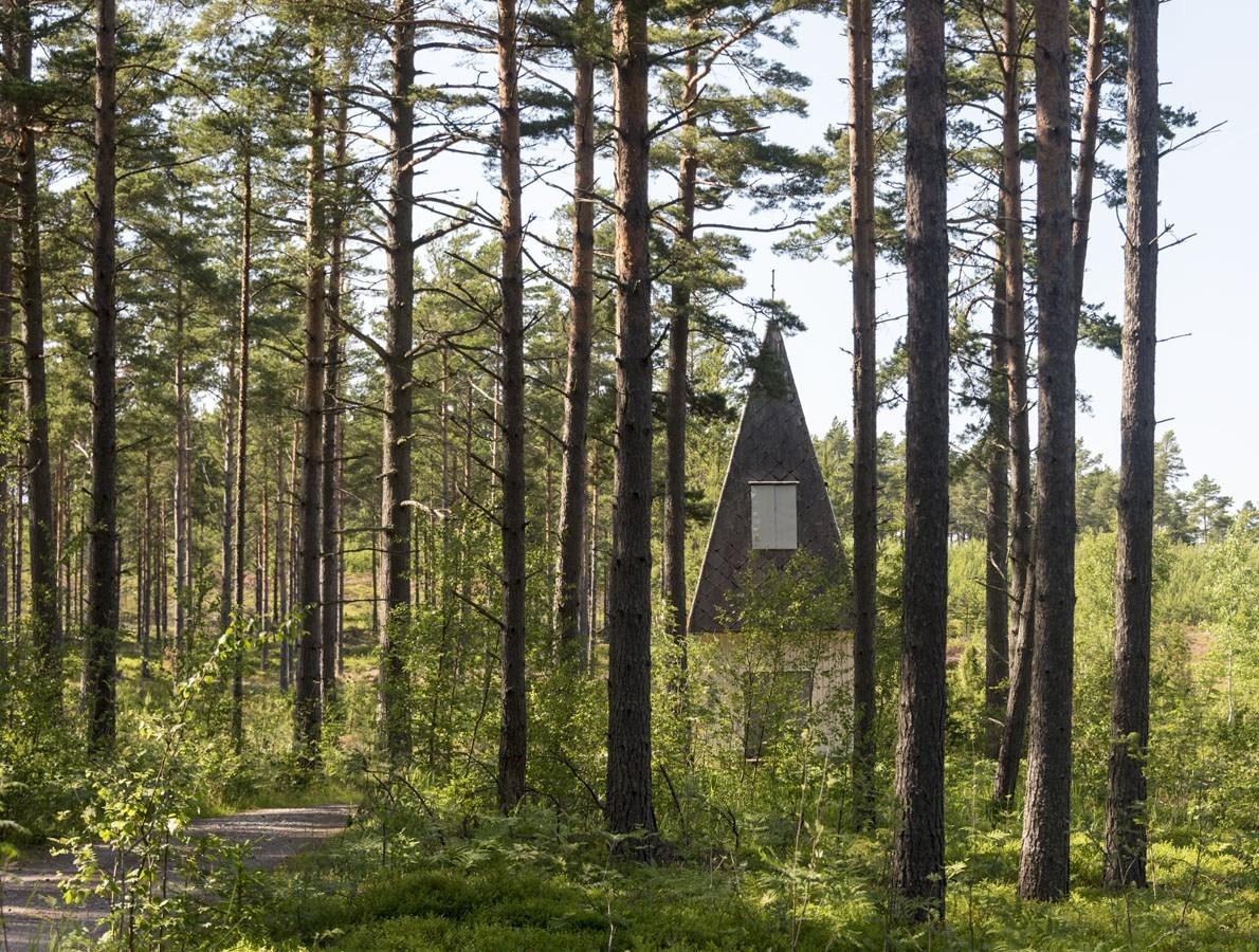 finland archipelago little church