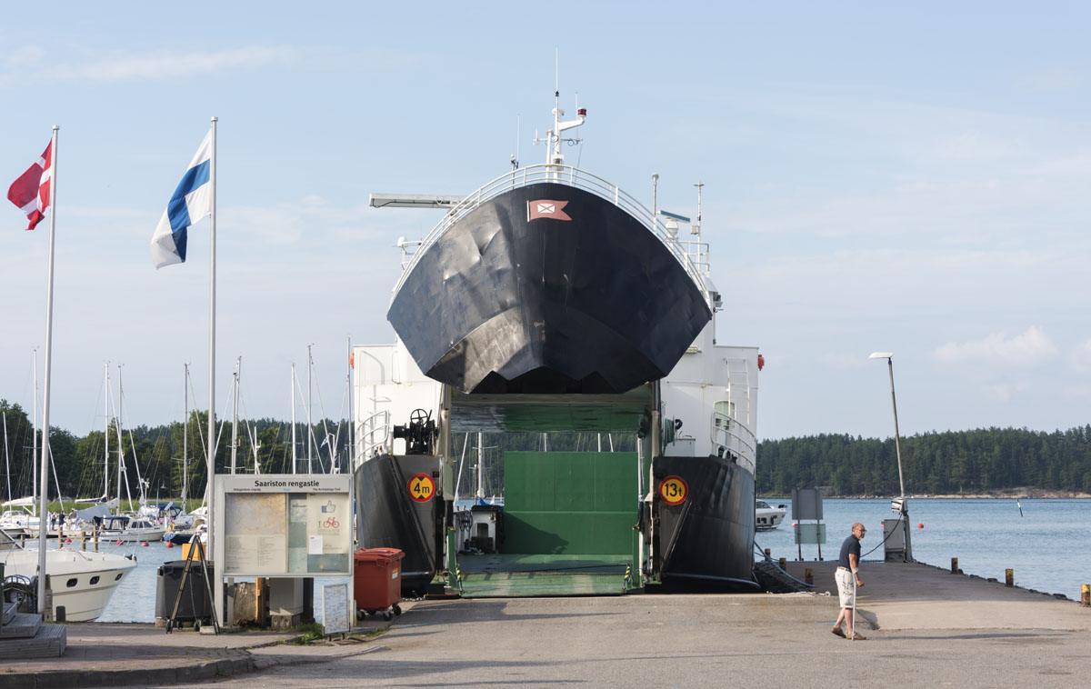 finnish archipelago ms ostern