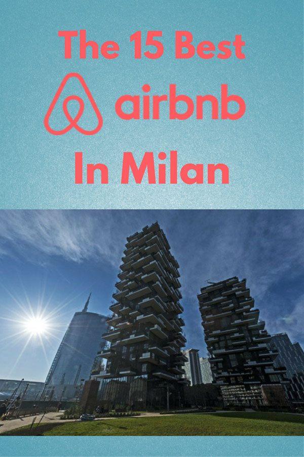 milan airbnb pin