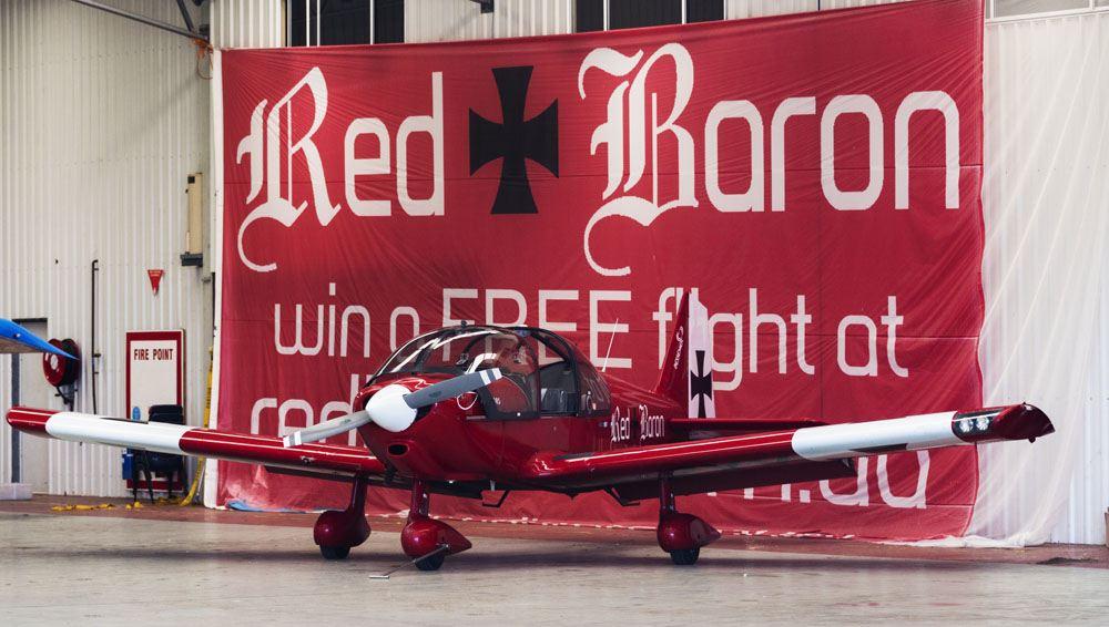 red baron plane sydney panoramic flights