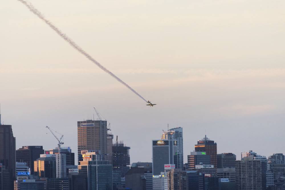 what to do in Sydney sunset plane