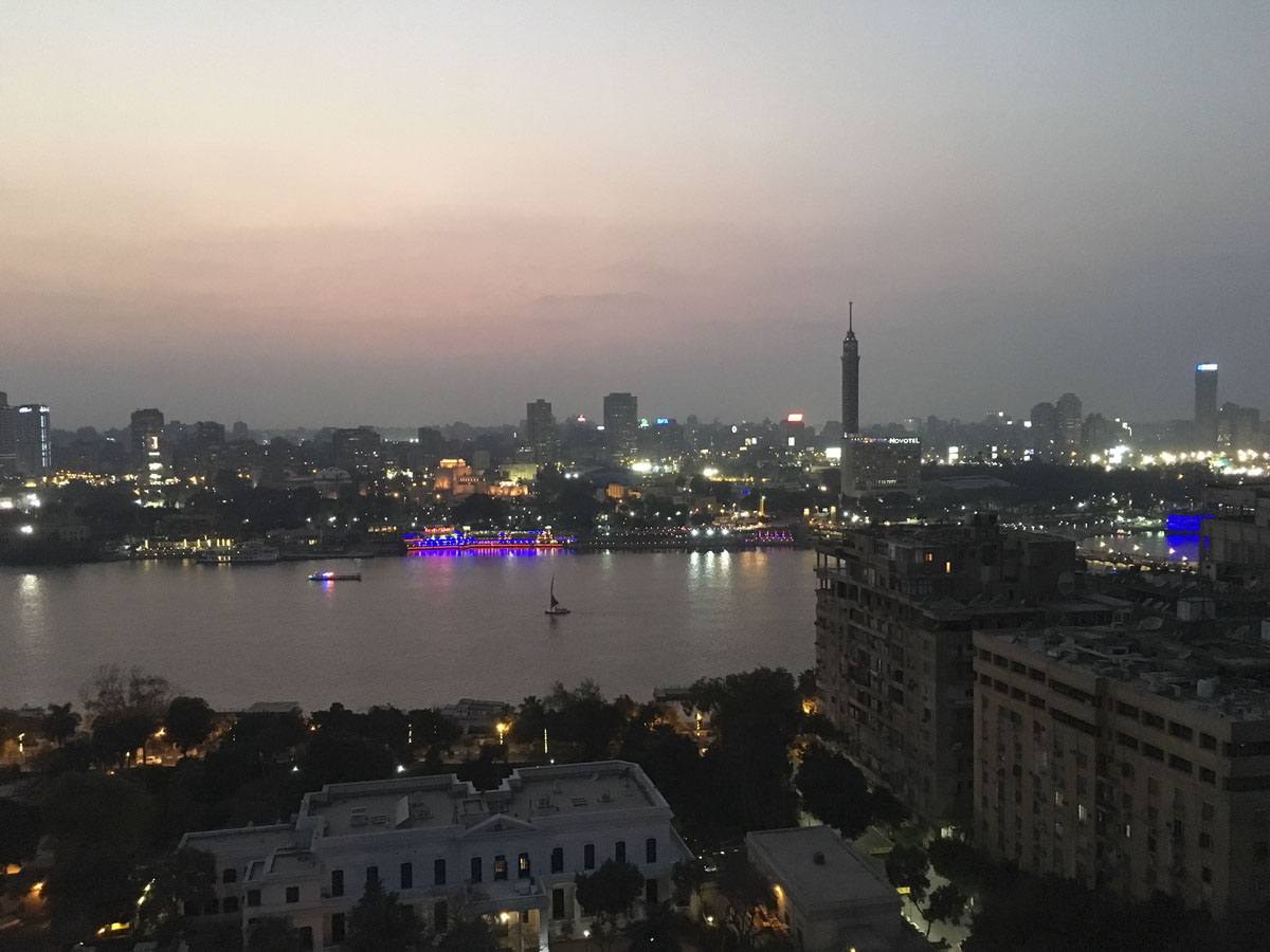 cairo beer view nile