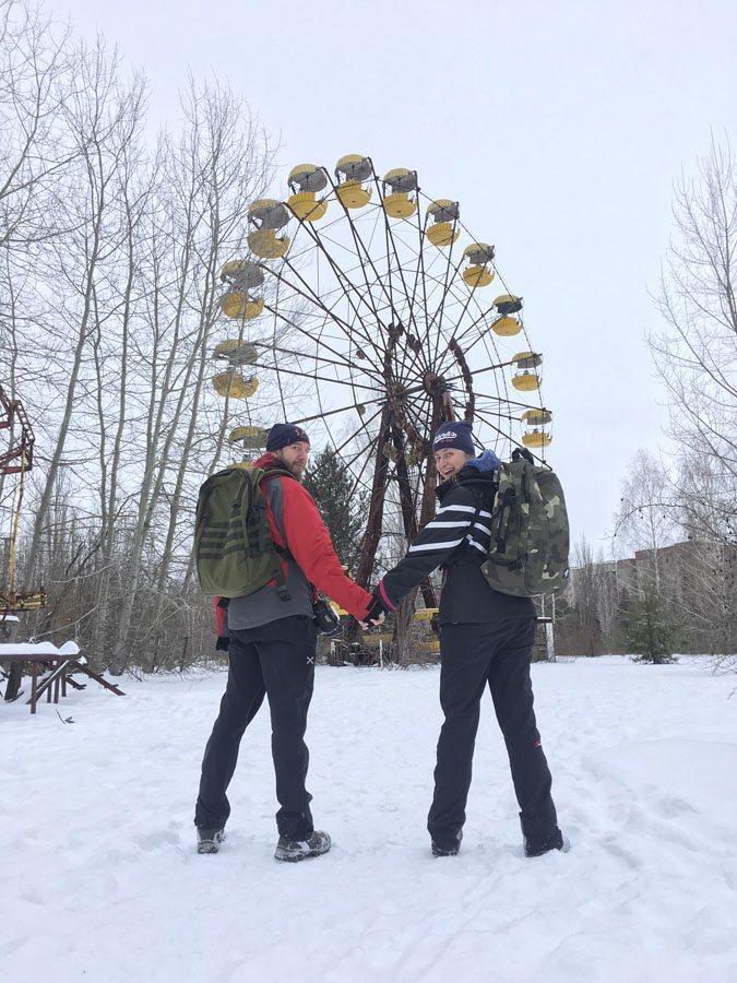 chernobyl wheel cabinzero