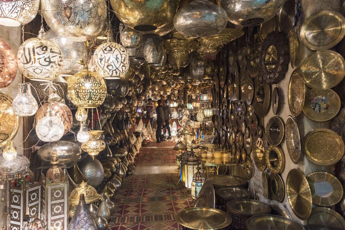 khan el khalili metal shop