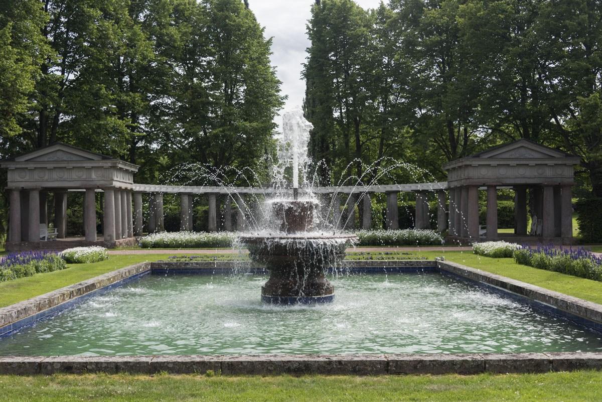 kultaranta gardens fountain