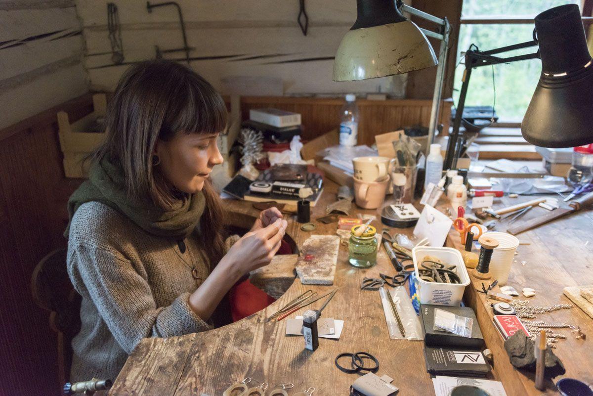 kustavi pottery silversmith