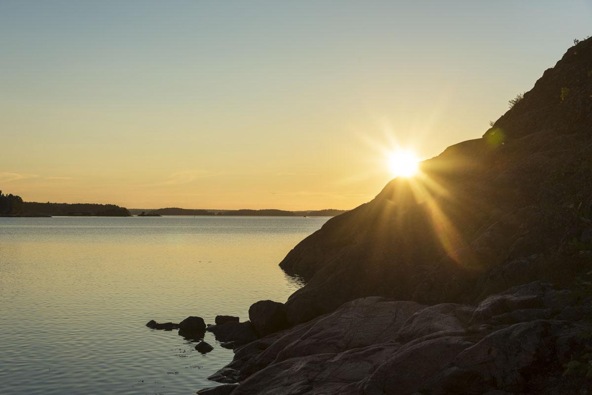 naantali summer sunset