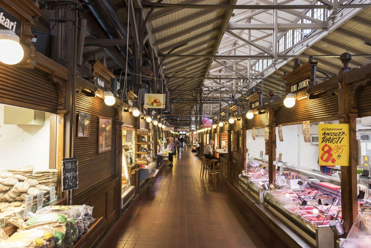 turku finland covered market