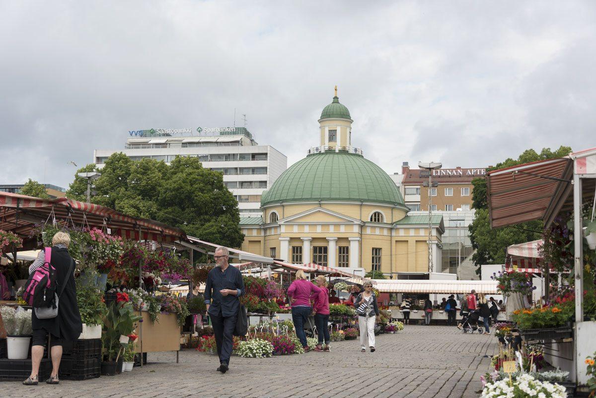 turku finland market square
