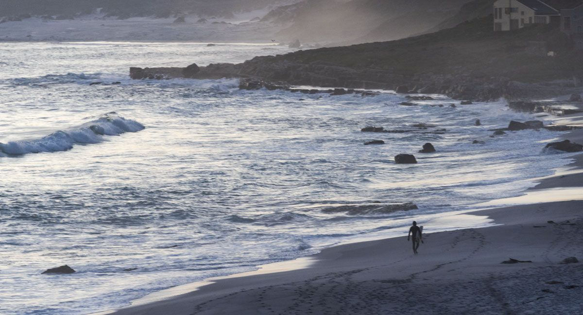 cape peninsula sunset