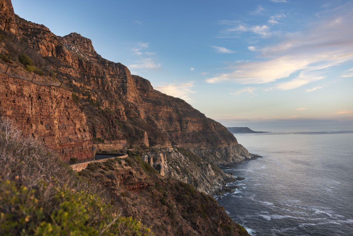 chapmans peak sunset
