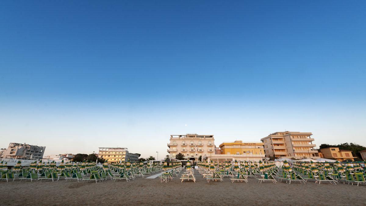 senigallia beach sunrise