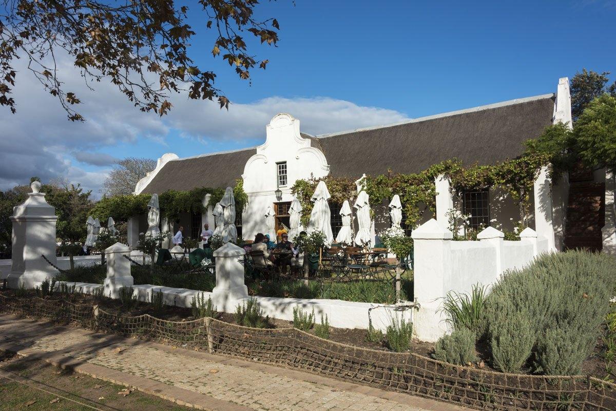 vergegnoed restaurant stellenbosch