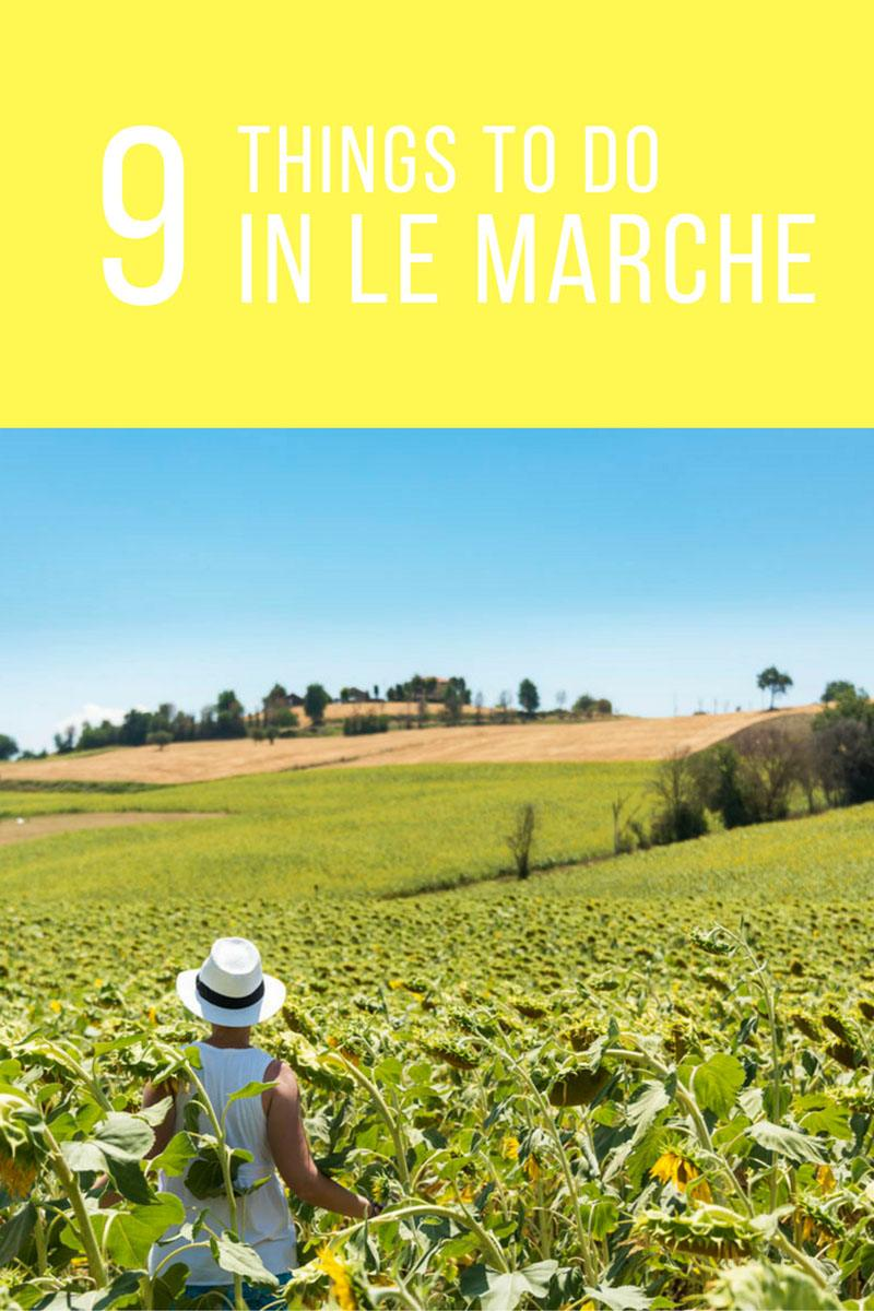 le marche italy travel itinerary what to do in Le marche