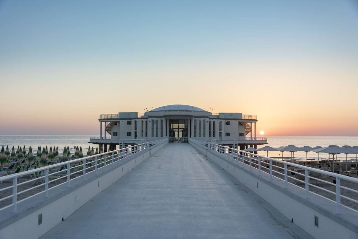 visit senigallia rotonda sunrise