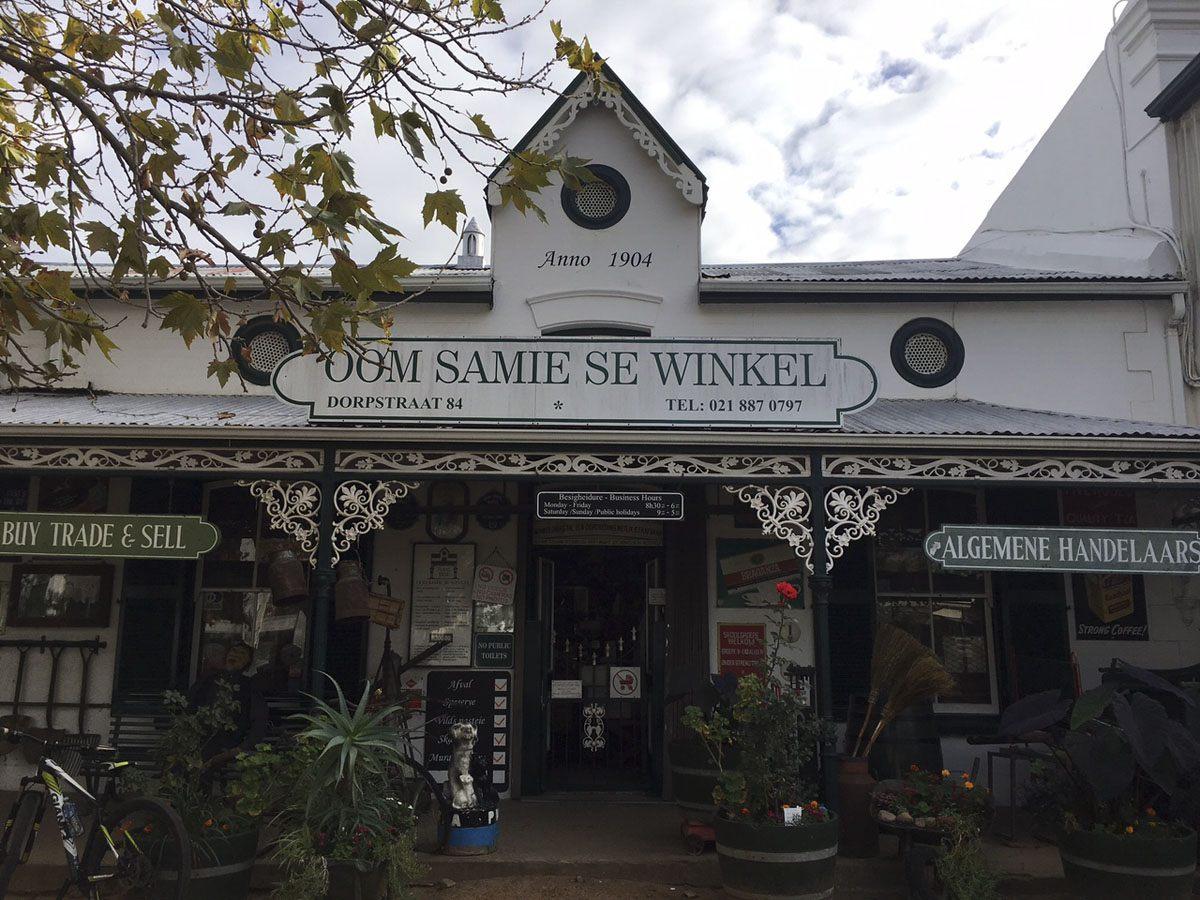 visit stellenbosch oom samie se winkel