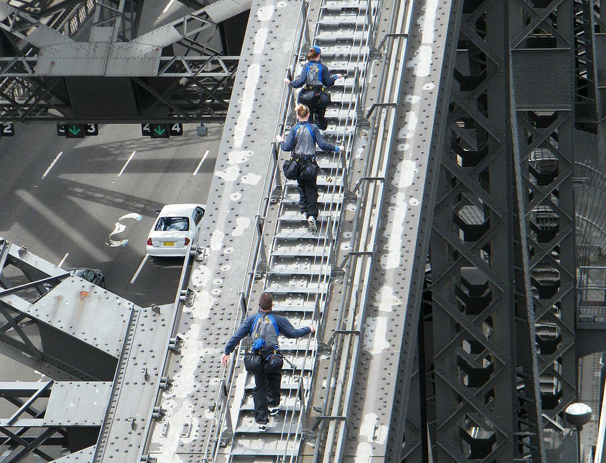 what to do in sydney bridge climb
