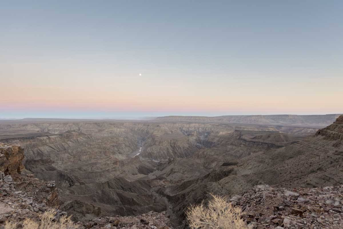 namibia fish river canyon