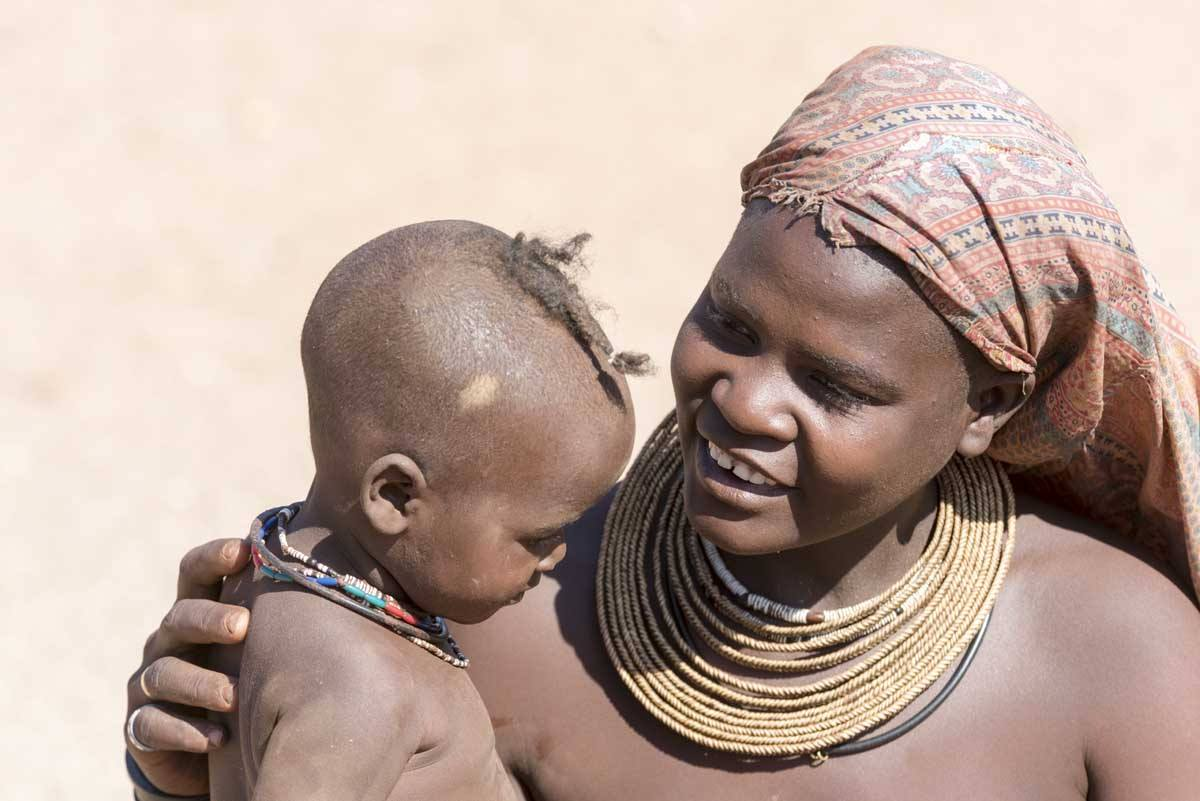 namibia himba people