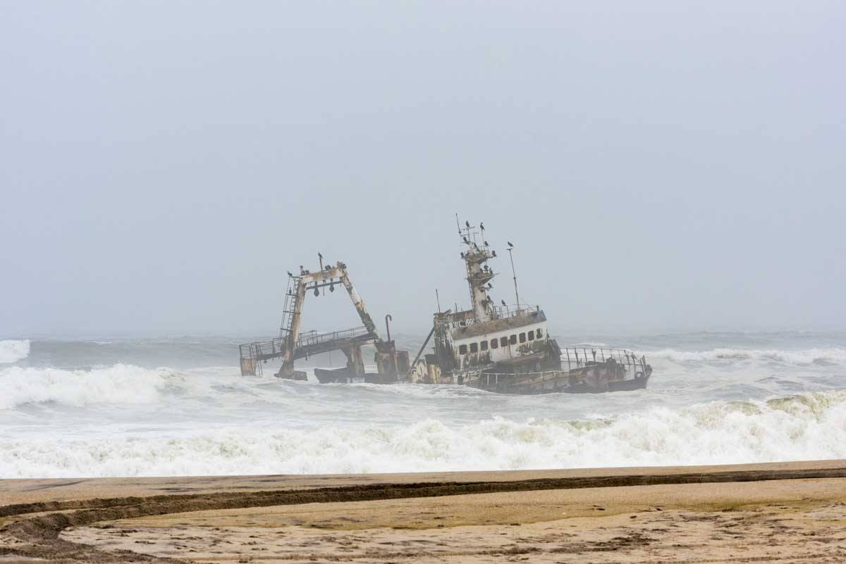 namibia skeleton coast