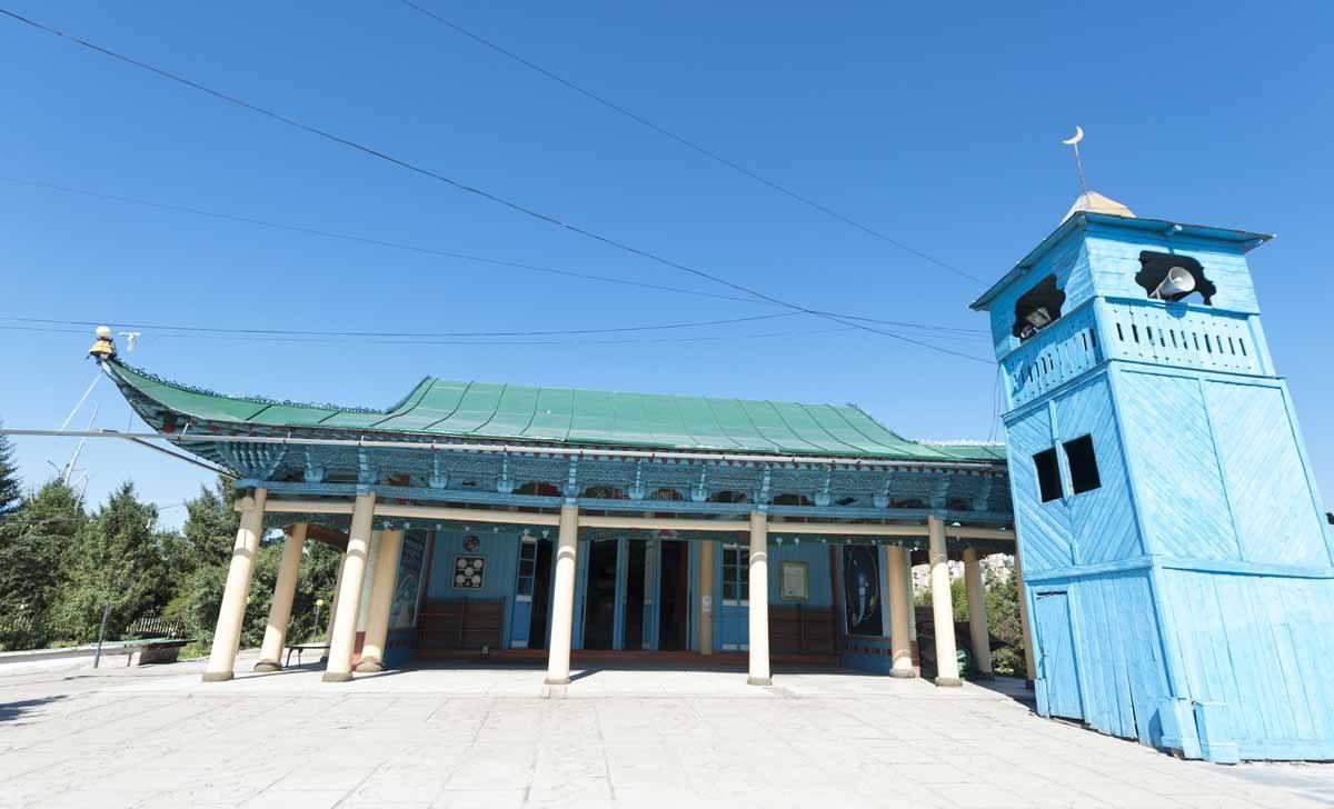 dungan mosque karakol