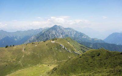 lake garda summer mountains