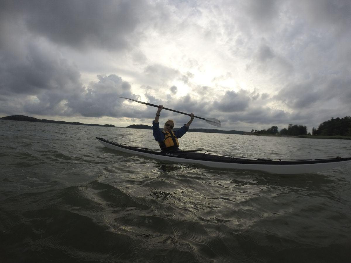 ruissalo turku kayaking