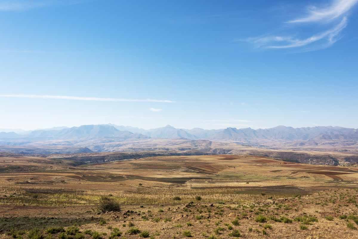 lesotho malealea lodge view