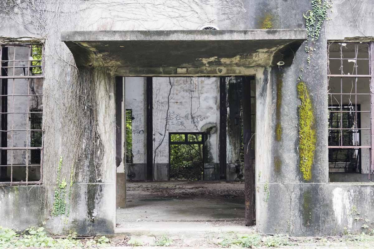okunoshima factory ruins japan