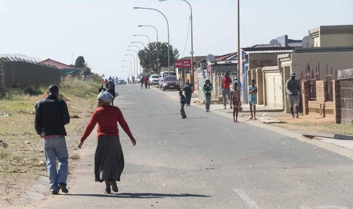 soweto street scene