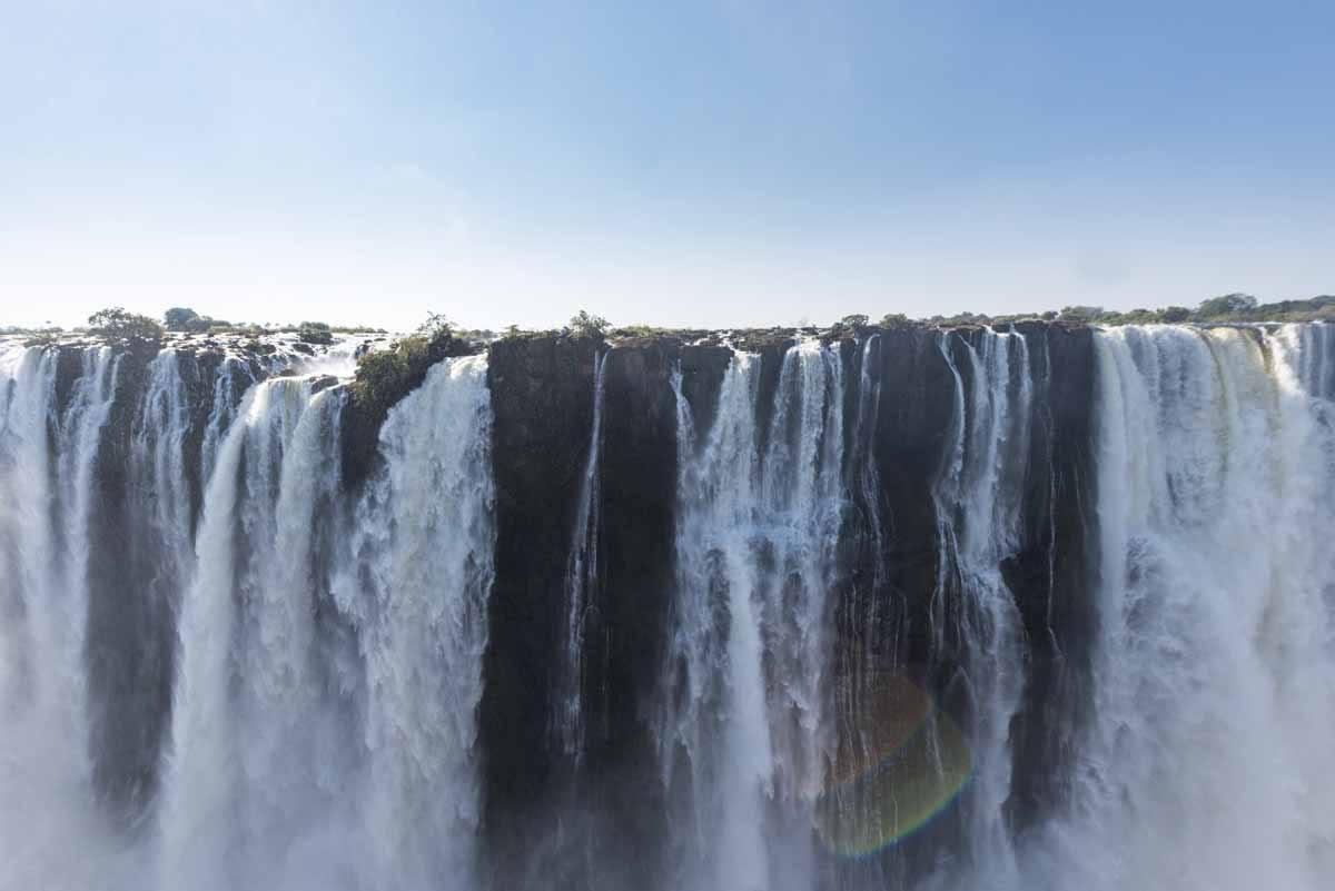 victoria falls water