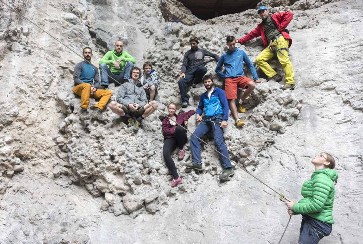 arco climbing group pic