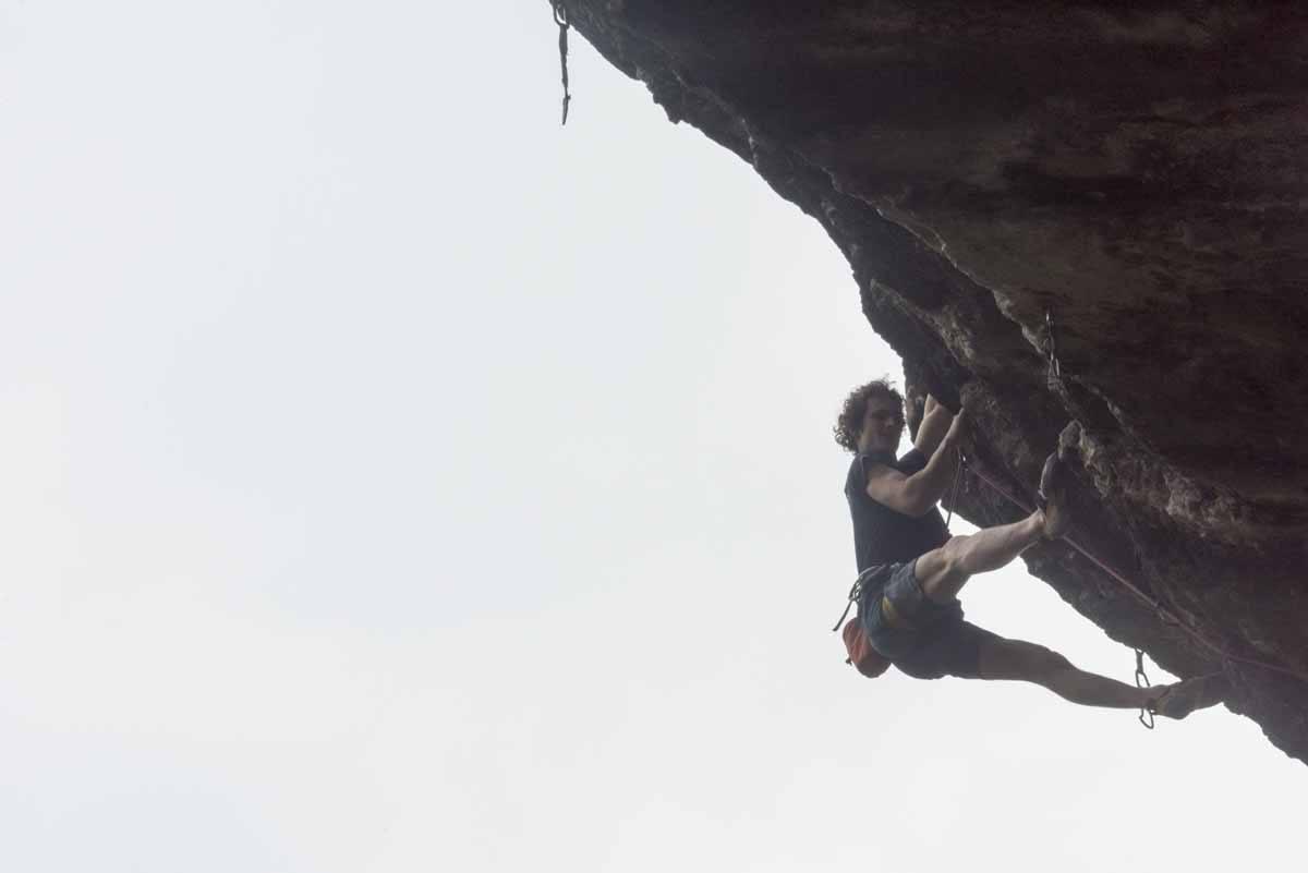 climbing in arco adam ondra