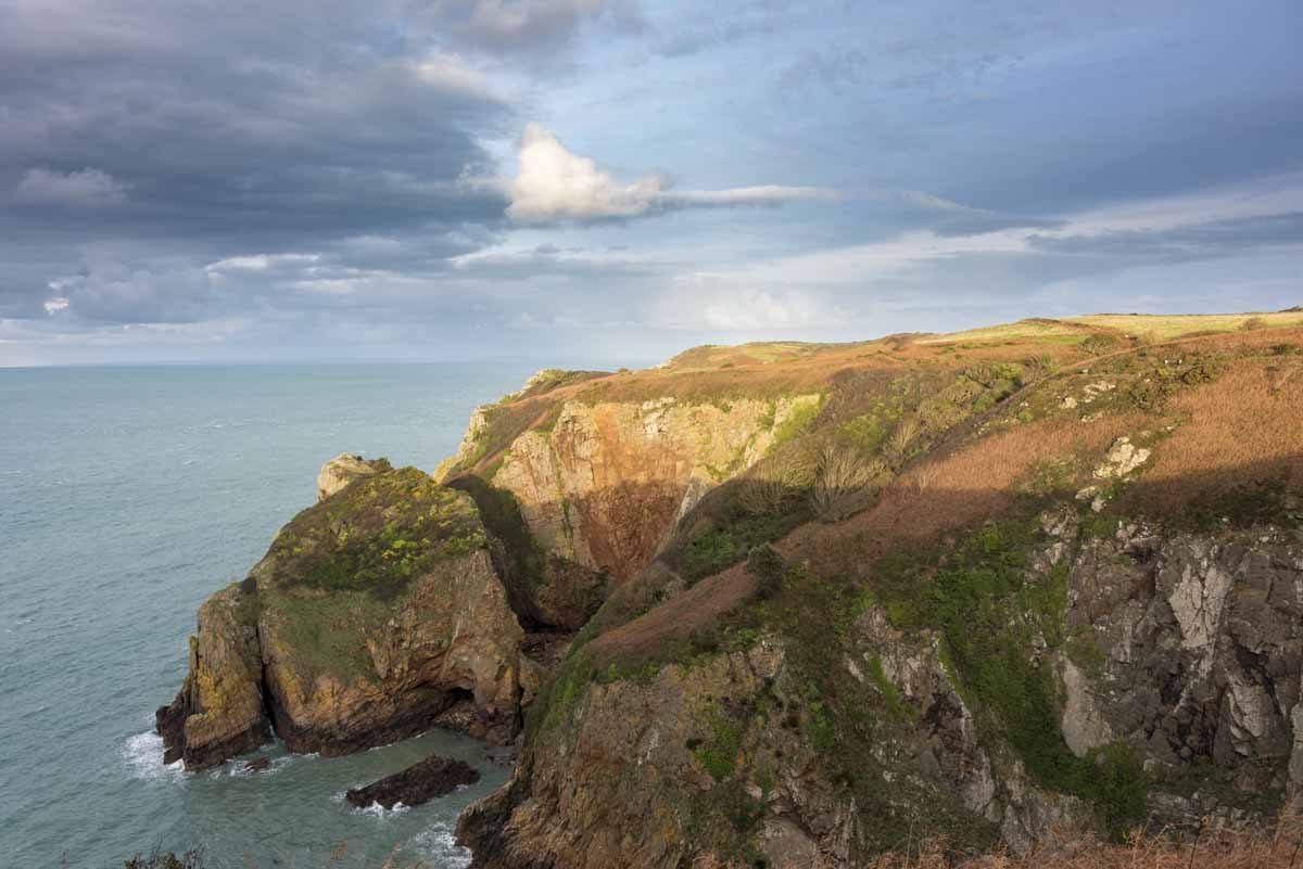 north coast cliff path jersey