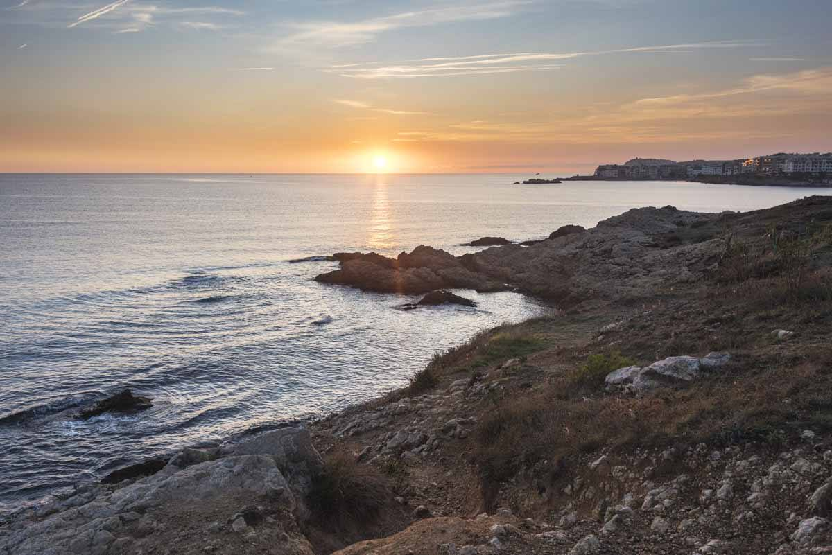 sunrise costa brava