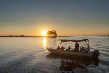things to do in botswana sunset
