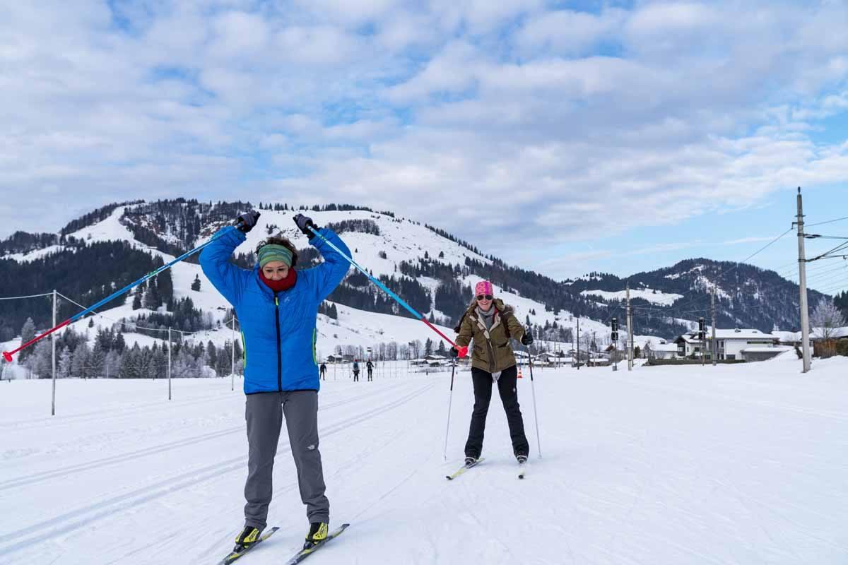 cross country ski hochfilzen tirol