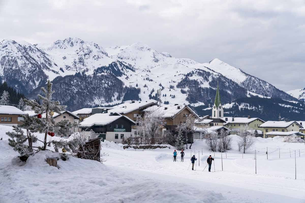 cross country ski winter tirol