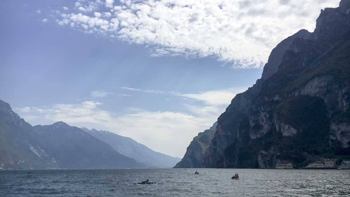 gardatrek lake garda hiking